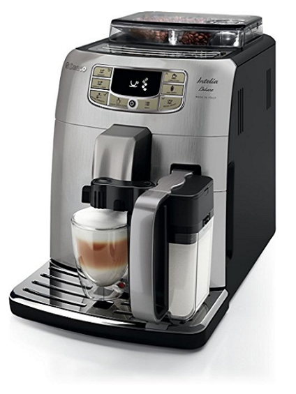 Best Super Automatic Espresso Machines Intelia Deluxe