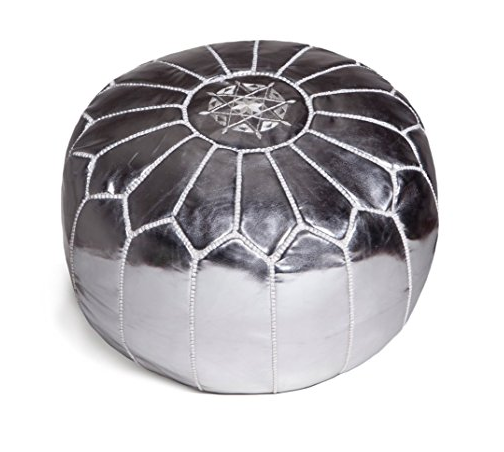 Moroccan Leather Pouffe Moroccan Poufs Sevenhints