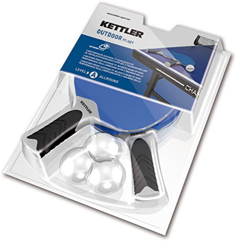 Kettler ping pong table parts kettler balls and paddle