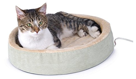 k&h thermo kitty heated cat bed K&H Thermo Kitty Cuddle Up