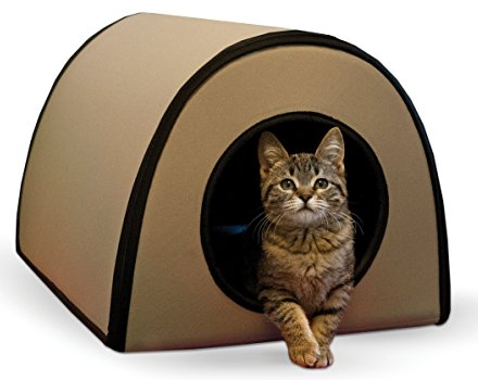 K Amp H Thermo Kitty Heated Cat Bed K Amp H Thermo Kitty Shelter