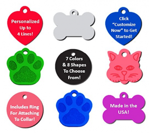 Pet Tags For Less cat tags