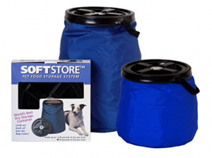 50 lb dog food storage containers Vittles Vault Collapsible Pet Food Storage