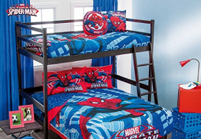 Spiderman bed bunks