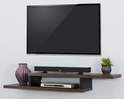 Floating Shelves For TV Equipment (3 Amazing Styles)