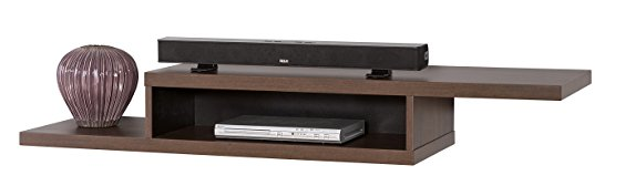 Floating shelves for TV equipment Wall Mount TV Console
