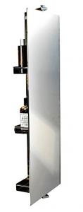 Swivel Storage Cabinet With Mirror