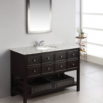 Bathroom Vanity With Shelf On Bottom