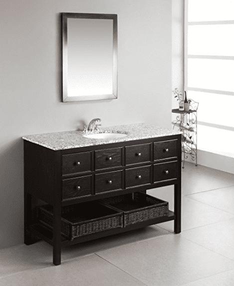 Bathroom Vanity With Shelf On Bottom Sevenhints