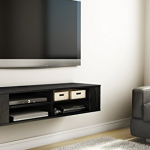 Shelf For Under Mounted TV – Extra Storage