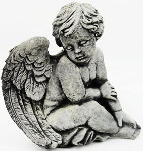 Concrete Angel Statues