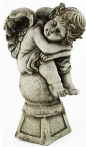 indoor angel statues