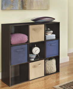 No drill shelves 9 cube storage cabinet option